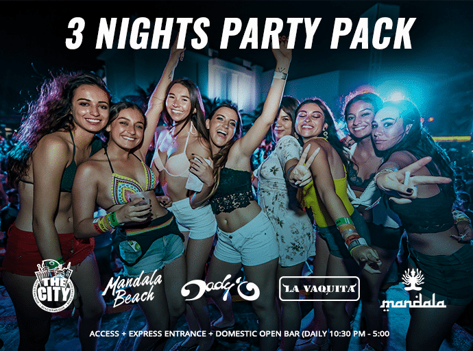 cancun party packages