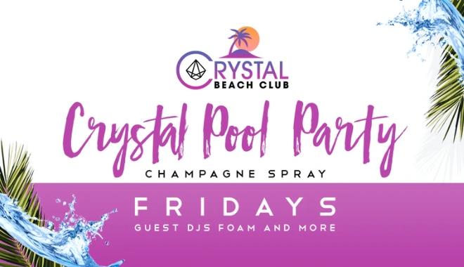 Champagne Spray Pool Party Slider