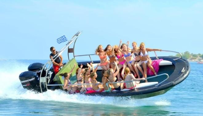 Crazy Speedboat Slider