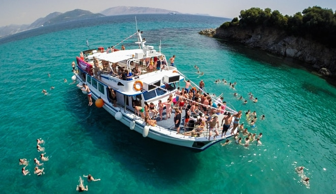 Kavos Boat Party