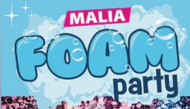 Malia Foam Party slider