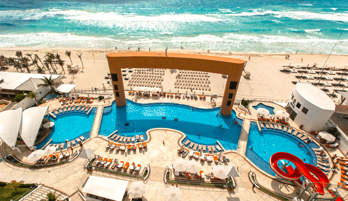 Spring party break cancun hotels Cancun Mexico