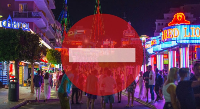 Magaluf Strip Ban Header