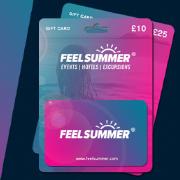 Feel Summer Gift Cards