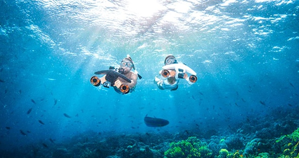 Underwater Sea Scooter 3